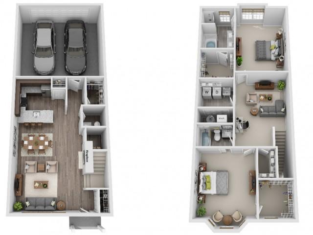 Evanston 2-Bedroom