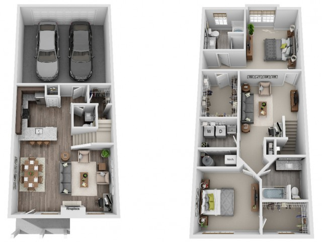 Georgetown 2-Bedroom