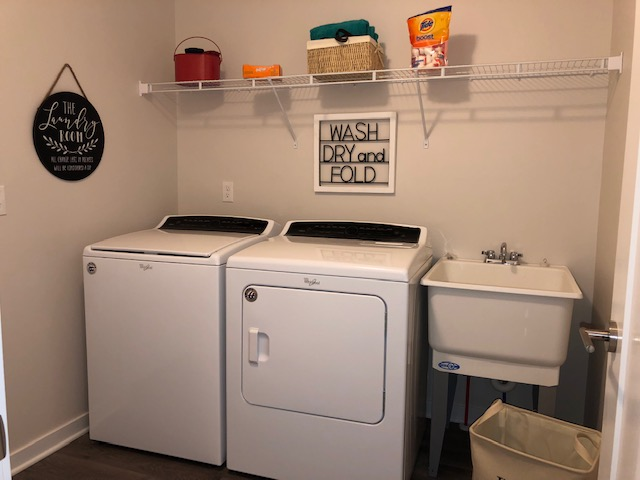 Image of Full Size Washer/Dryer Included for Kirkway Apartments