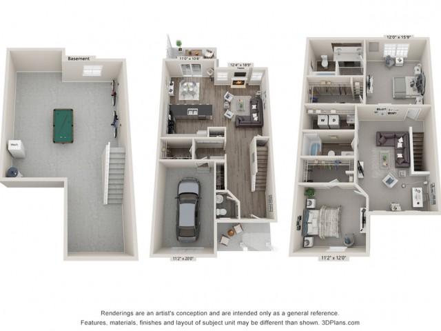 Calabria- 3 Bedroom