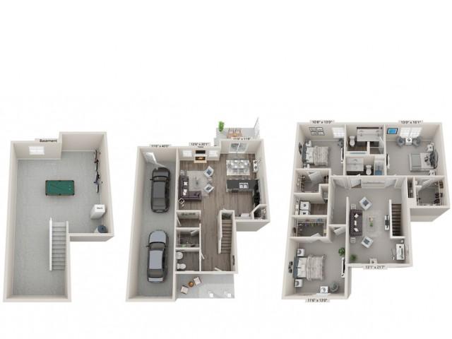 Liguria- 3 Bedroom