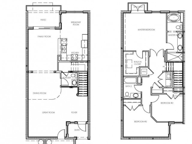 Monarch Floor Plan