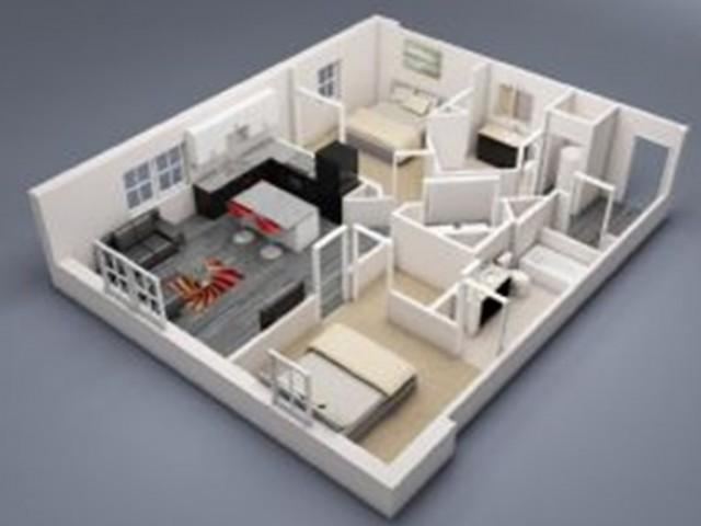 Spelman 2 Floor Plan