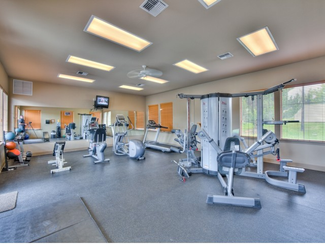 Image of 24-HR Fitness Center for Adirondack Lodge