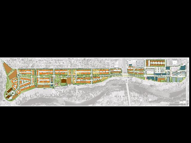 Kendall Yards community map