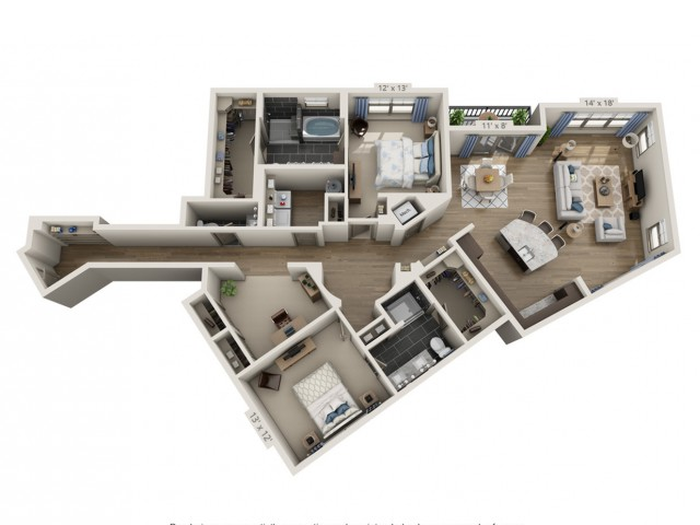 Costello   2 bed 3 bath   from 1797 square feet