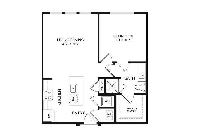 A1 Alt   1 bed 1 bath   700 sq ft