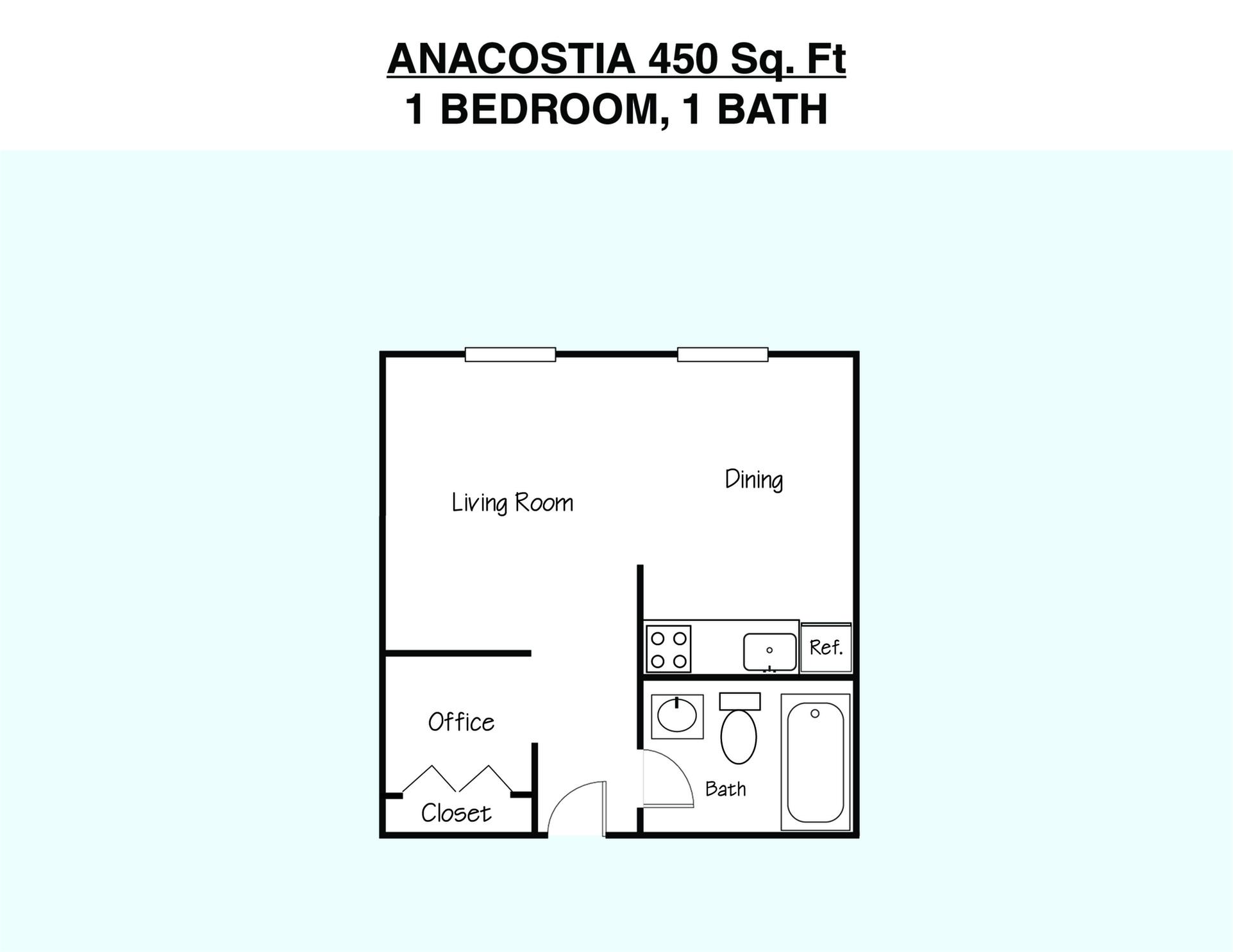 Anacostia Floor Plan
