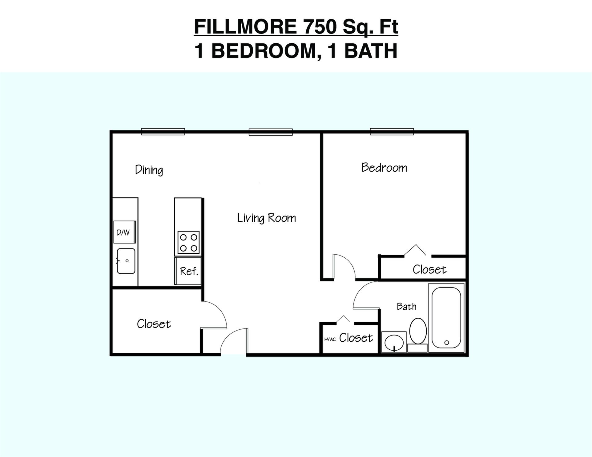 Fillmore Floor Plan