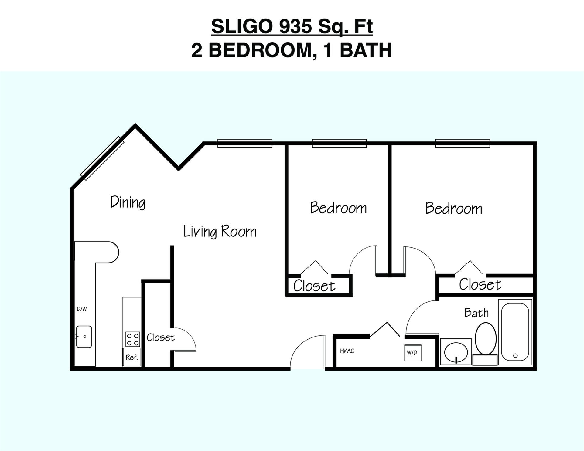 Sligo Floor Plan