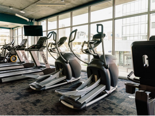 24-Hour Fitness Center with Child Play Room