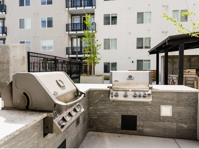Barbecue Grilling Stations