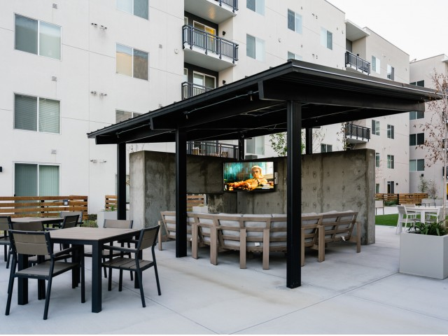 Outdoor TV Lounges