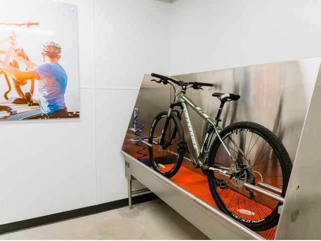 Bicycle Repair Station & Washing Center