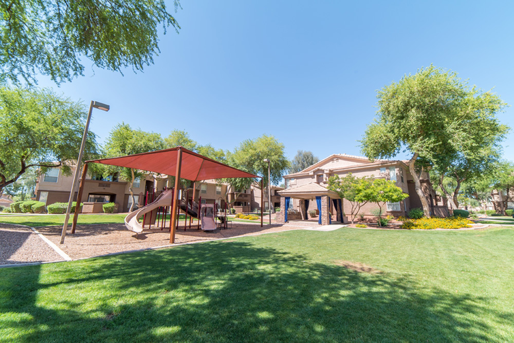 Image of Shaded Playground for Sonoma Ridge Apartments