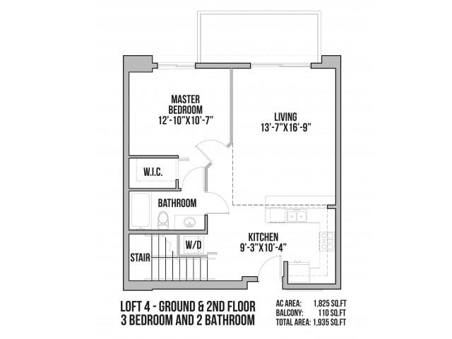 Loft 4 | Ground Floor