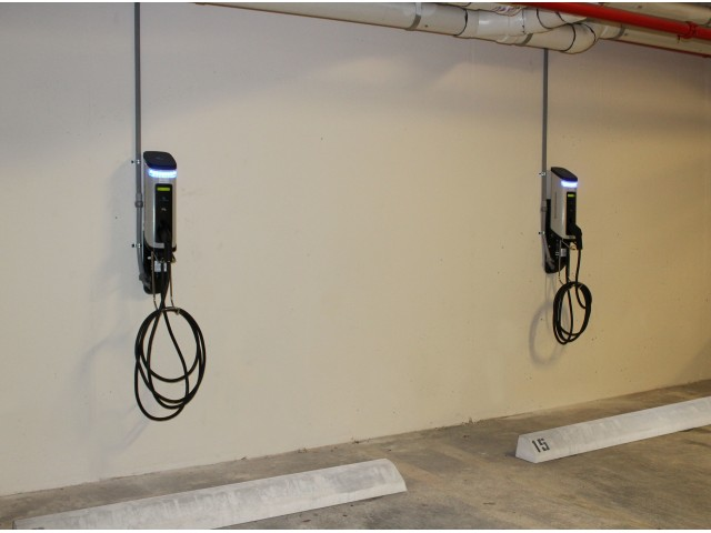 Image of Electric Car Charging Station for Miami Bay Waterfront Midtown Residences