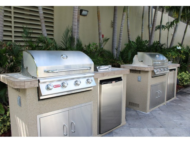 Image of Brand New BBQ Area for Gables 37 Grand