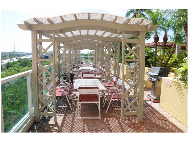 Image of BBQ Pavilion for Intracoastal Yacht Club