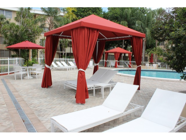 Image of Poolside Cabanas for Colony at Dadeland