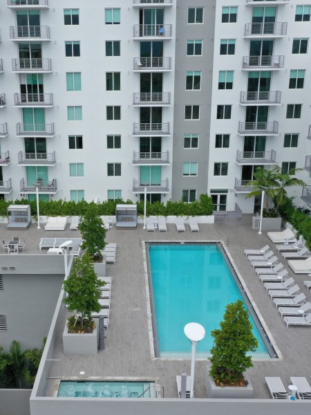 AERIAL POOL PHOTO AND DECK