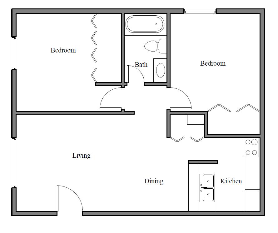 B1P Floor plan