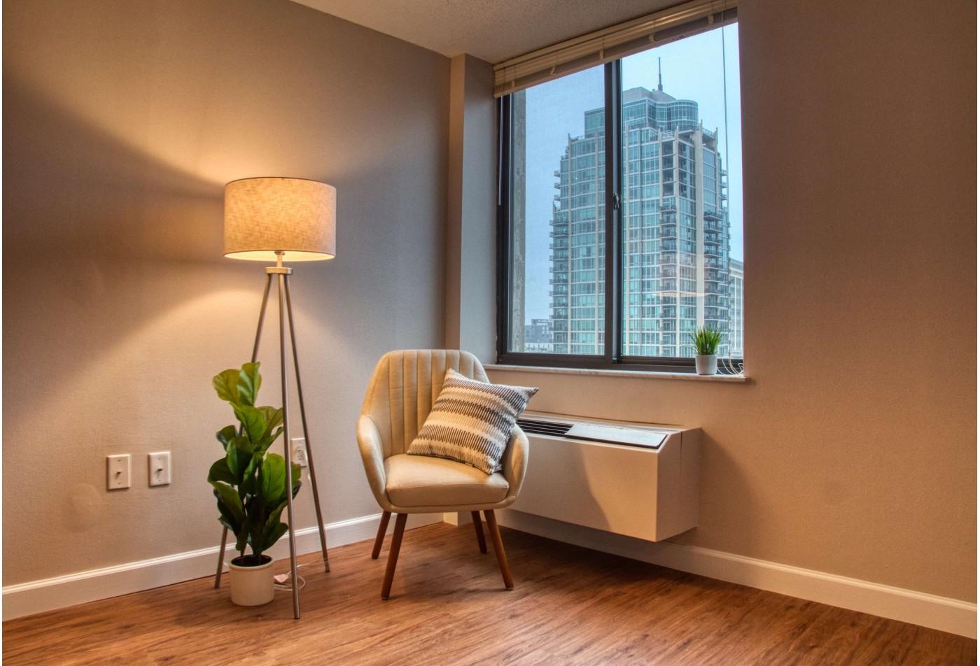 Elegant Living Area | Apartments In St. Louis | Del Coronado