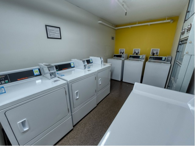 Laundry Facilities | St. Louis Apartments | Del Coronado