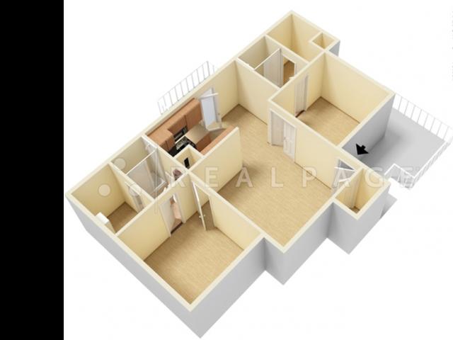 2 Bed, 2 Bath Tree House WD