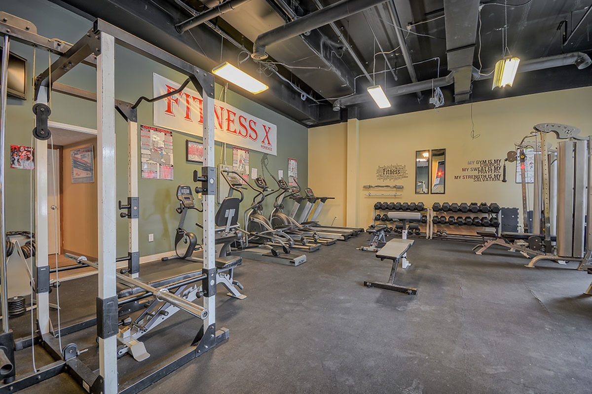 River Market Apartments Lifestyle - 24 Hour Fitness Center