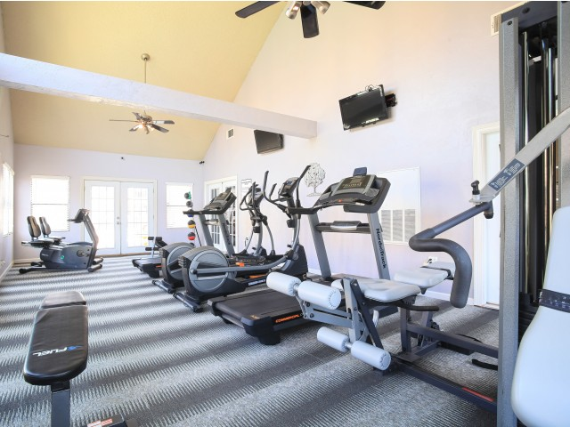 Post Oak Apartments Lifestyle - 24 Hour Fitness Center