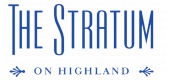 Stratum on Highland Apartments Logo