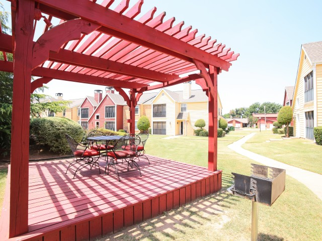 Image of Barbecue Grills/Picnic Area for Post Oak