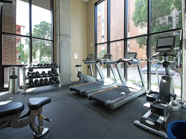 The Lux Apartments Lifestyle - Fitness Center