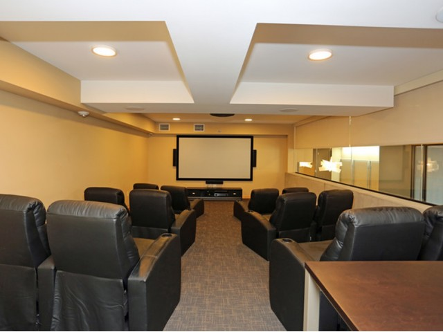 The Lux Apartments Lifestyle - Movie Theater