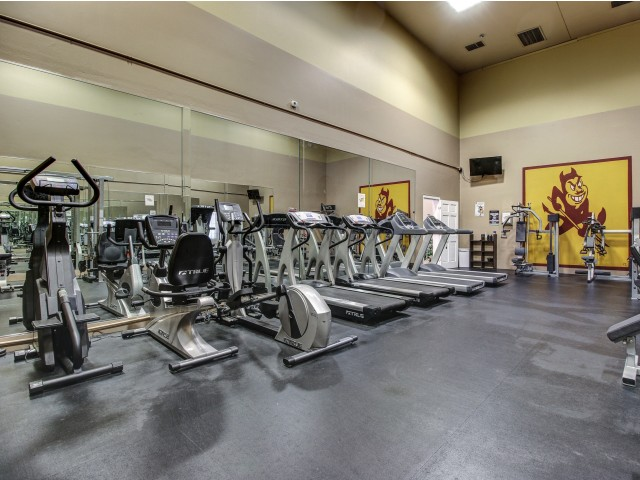 Villas on Apache Apartments Lifestyle - Fitness Center