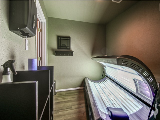 Villas on Apache Apartments Lifestyle - Tanning Bed