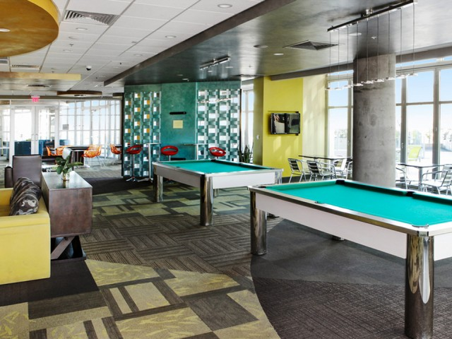 West Sixth Apartments Lifestyle - Game Room
