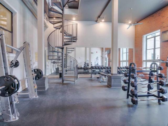 Image of 2-Level Fitness Center w/ Yoga for www.catalystfsu.com