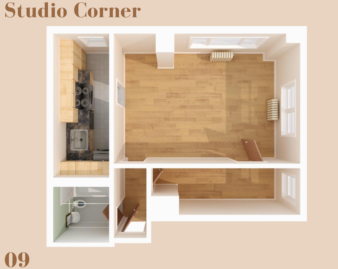Wilsonian Studio Corner 09