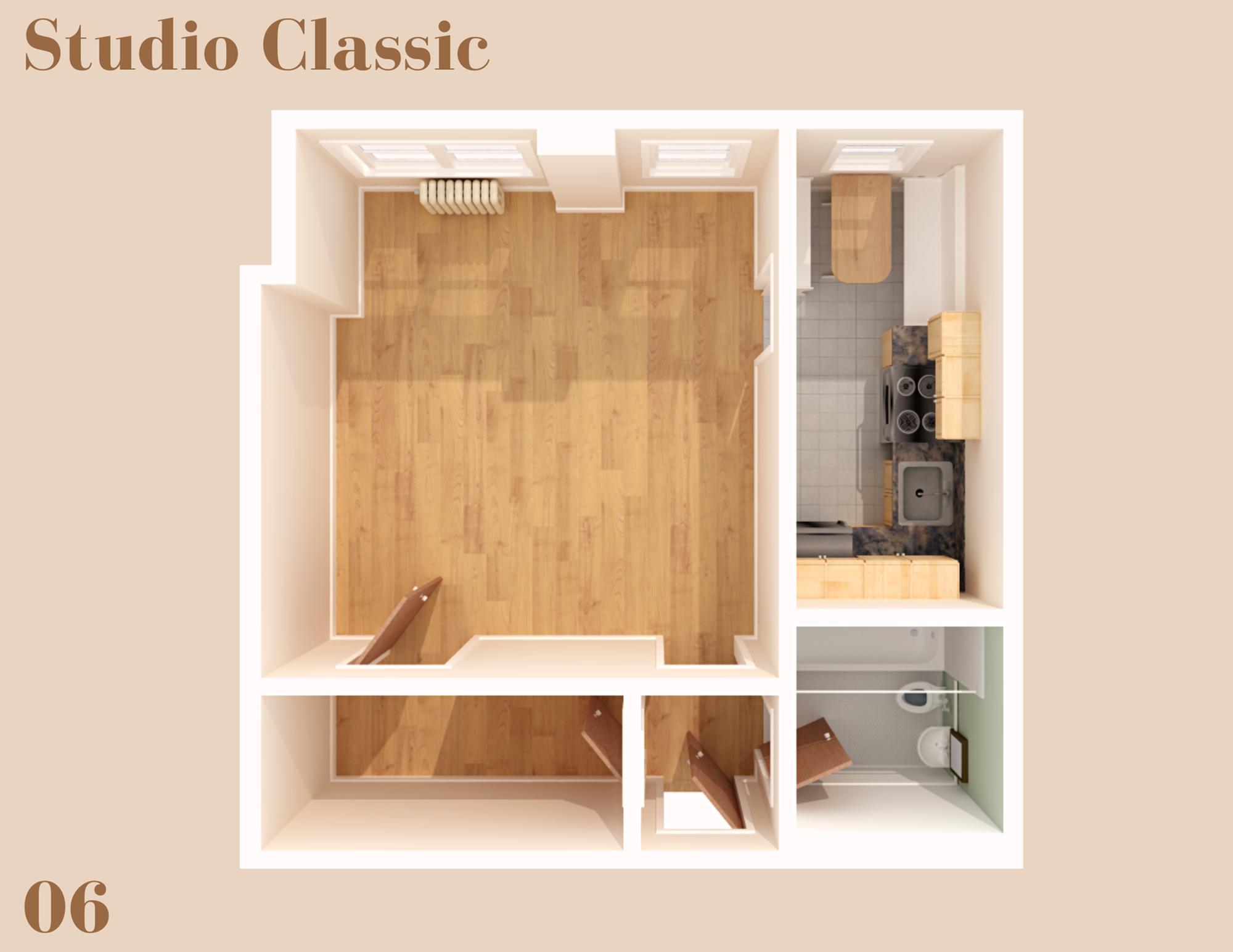 Wilsonian Studio Classic 6