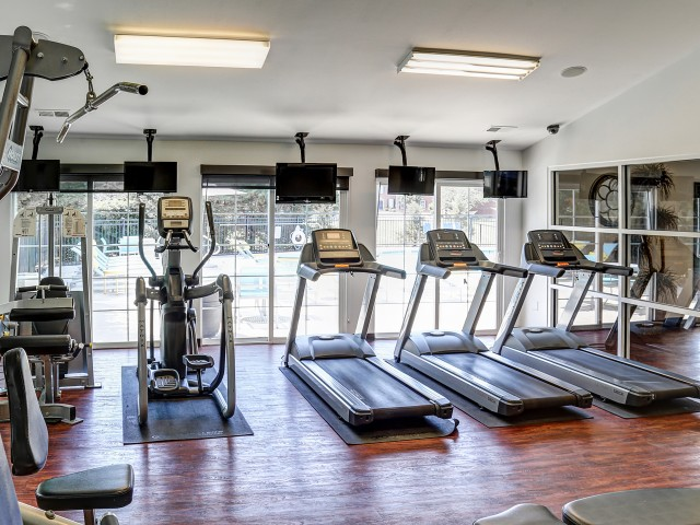 Campus Court at Red Mile Apartments Lifestyle - Fitness Center