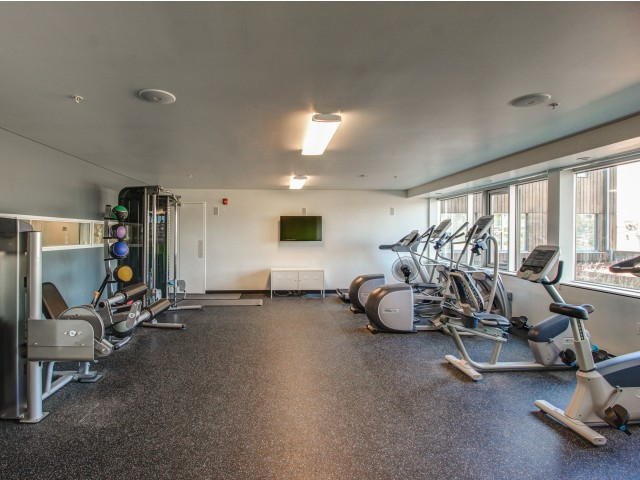 Skybox Apartments Lifestyle - Fitness Center
