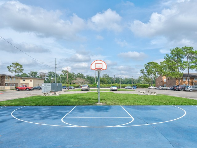 Tiger Plaza Apartments Lifestyle - Basketball Court
