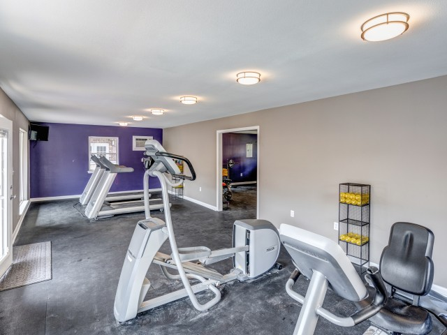 Tiger Plaza Apartments Lifestyle - 24 Hour Fitness Gym