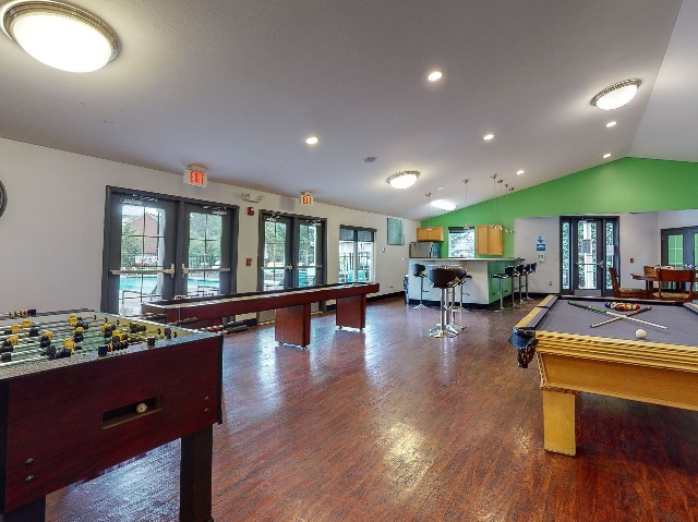 Campus Court at Red Mile Apartments Lifestyle - Game Room