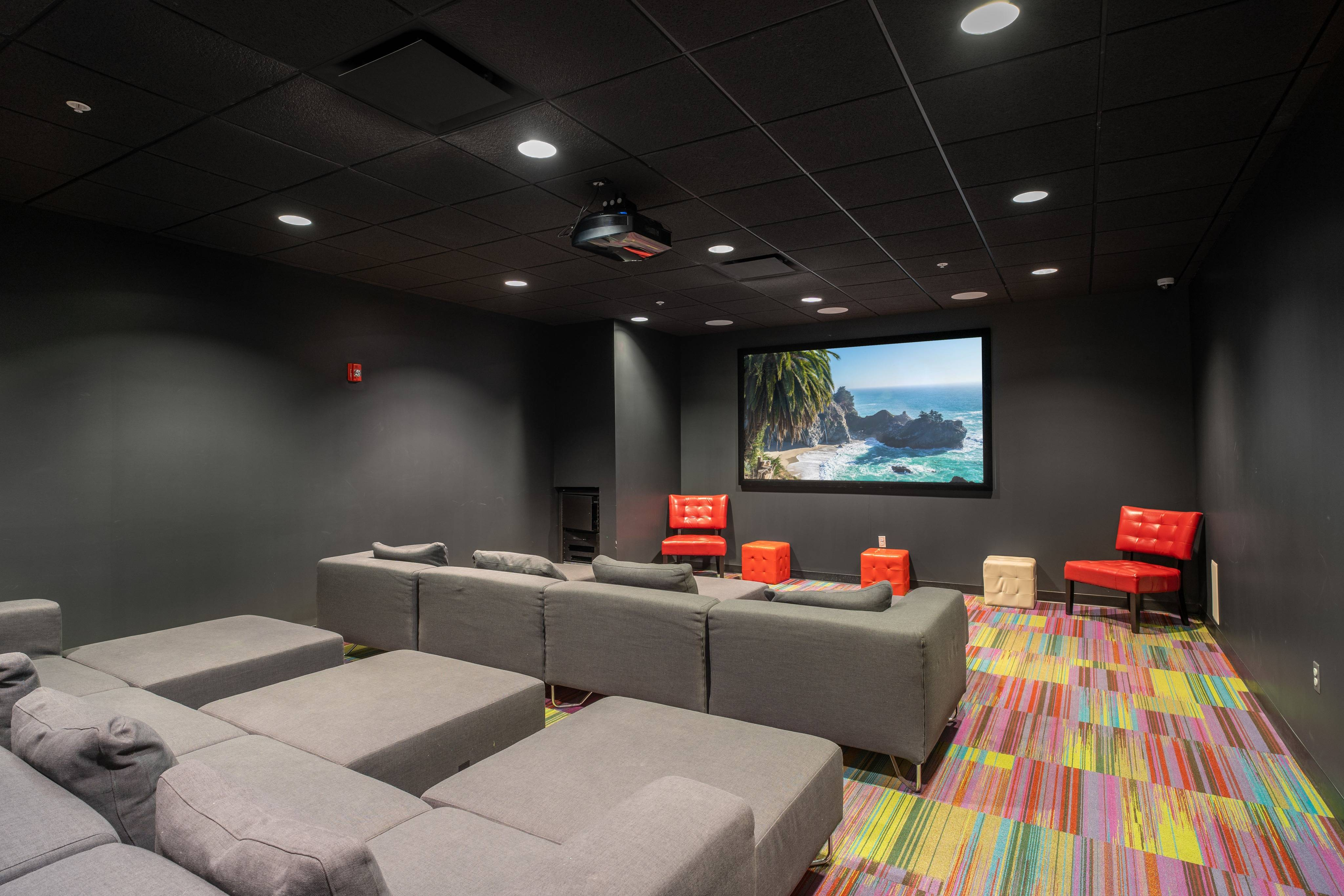 District Flats Apartments Lifestyle - Movie Theater