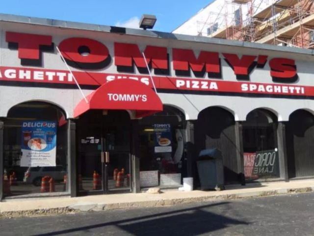 Tommys Pizza | Logo