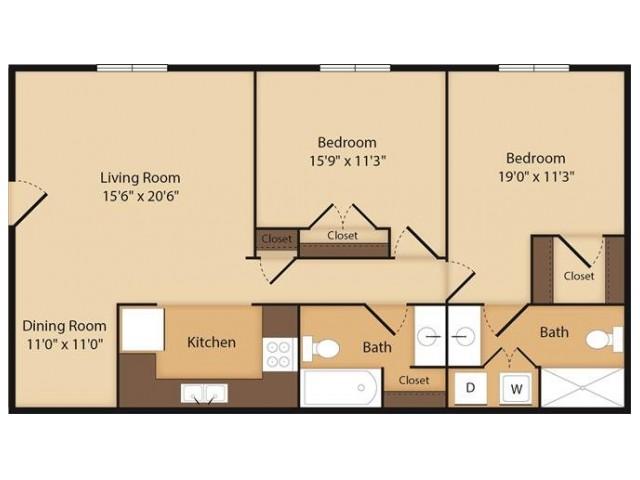 The Finley- 2 Bedroom