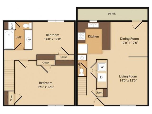The Mckenzie- 2 Bedroom